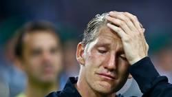 Schweinsteiger bröt ihop inför avskedet