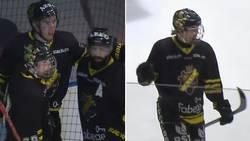 15-åring med assist i hockeyallsvenskan