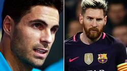 Han (!) pekas ut i bråket med Messi