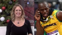 Usain Bolt ville hylla United – blir inte trodd av programledaren