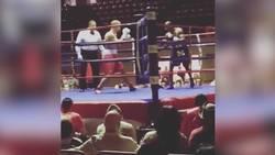 Otroliga knocken – slås ut från ringen